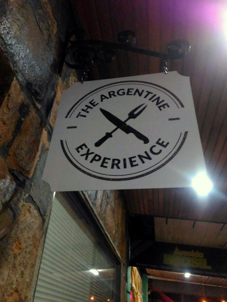 The Argentine Experience placa