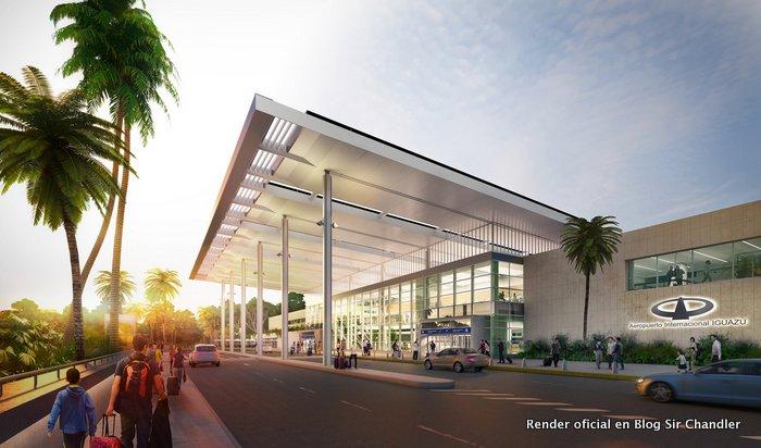 Após reformas, aeroporto de Puerto Iguazú volta a operar Primeira fase foi concluída, mas obras continuam no local