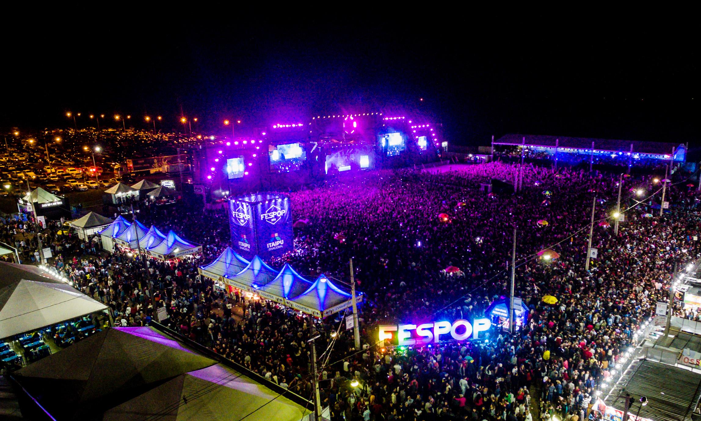 10ª edição da Fespop bate recorde de público De acordo com a organização, mais de 50 mil pessoas estiveram no Parque de Exposições