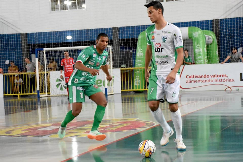 6fc53a4e0b Foz Cataratas Futsal contrata destaque do Aymoré Ala Nico tem a força  física