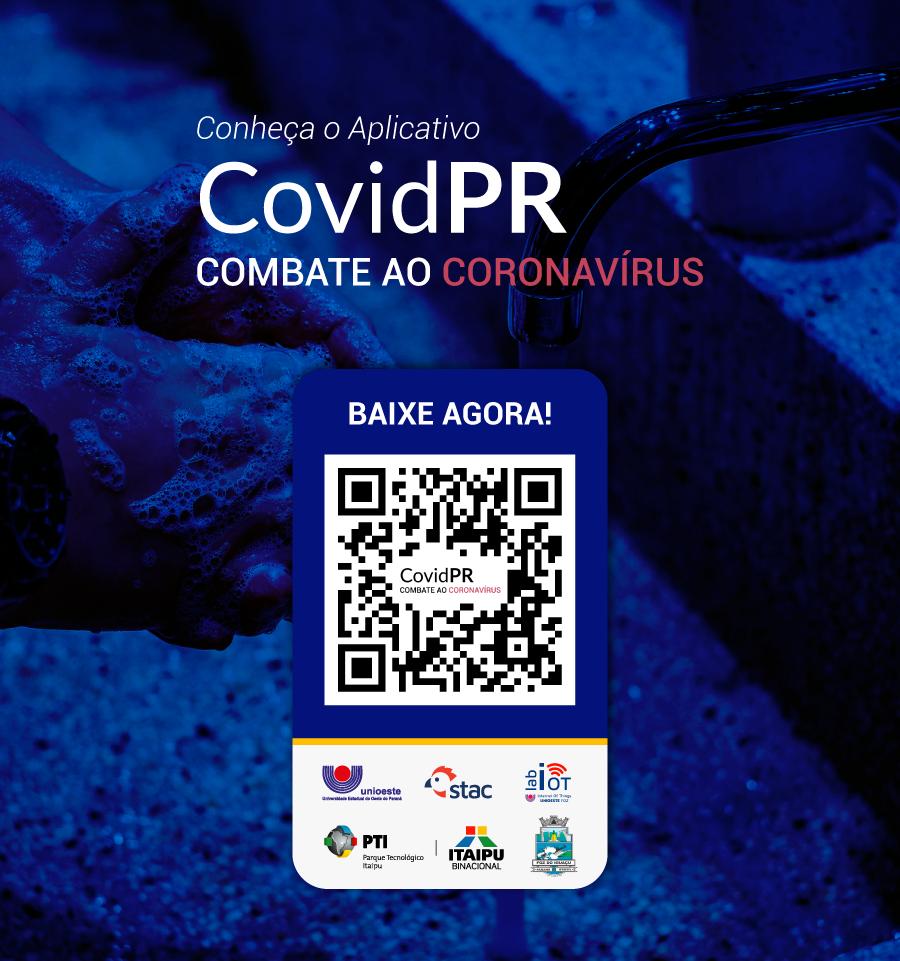 Aplicativo CovidPR amplia divulgação e disponibiliza versão para ...
